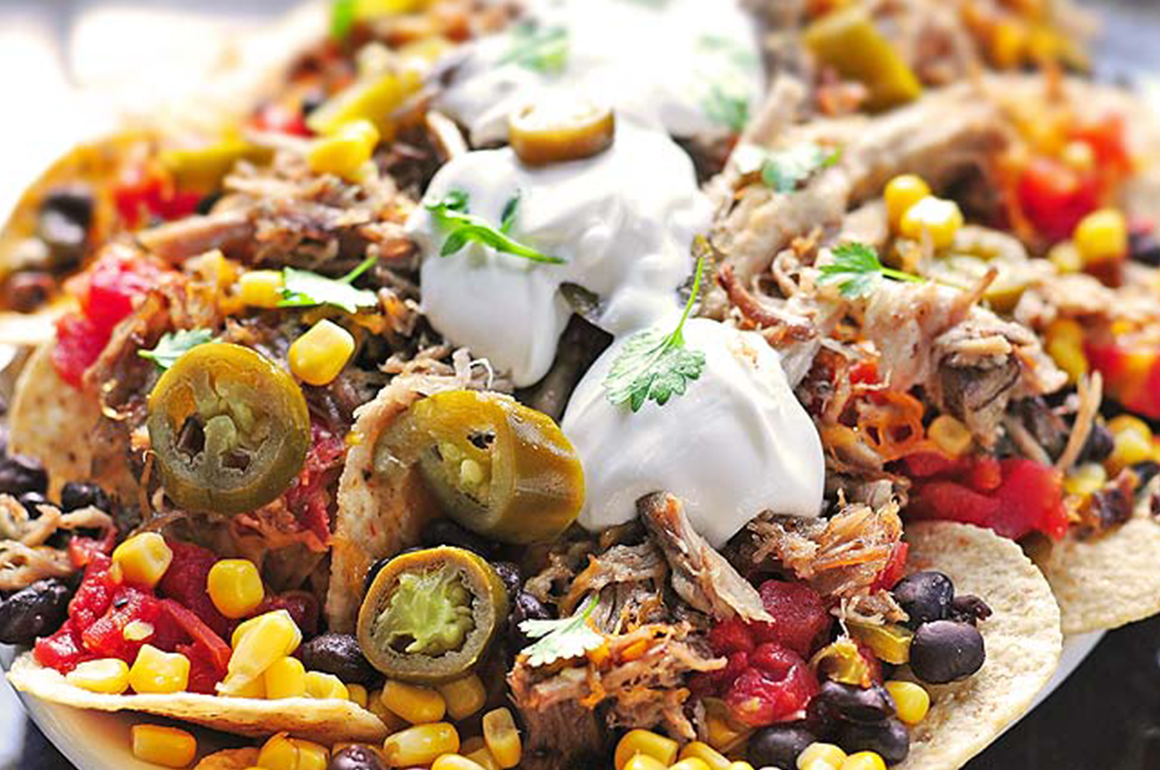Pulled Pork Nacho big jims appetizers