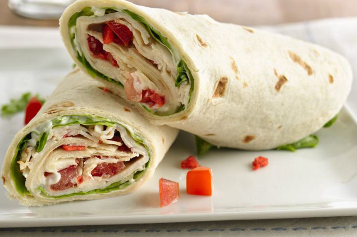 Wraps Lunch Special at Big Jims Restaurant