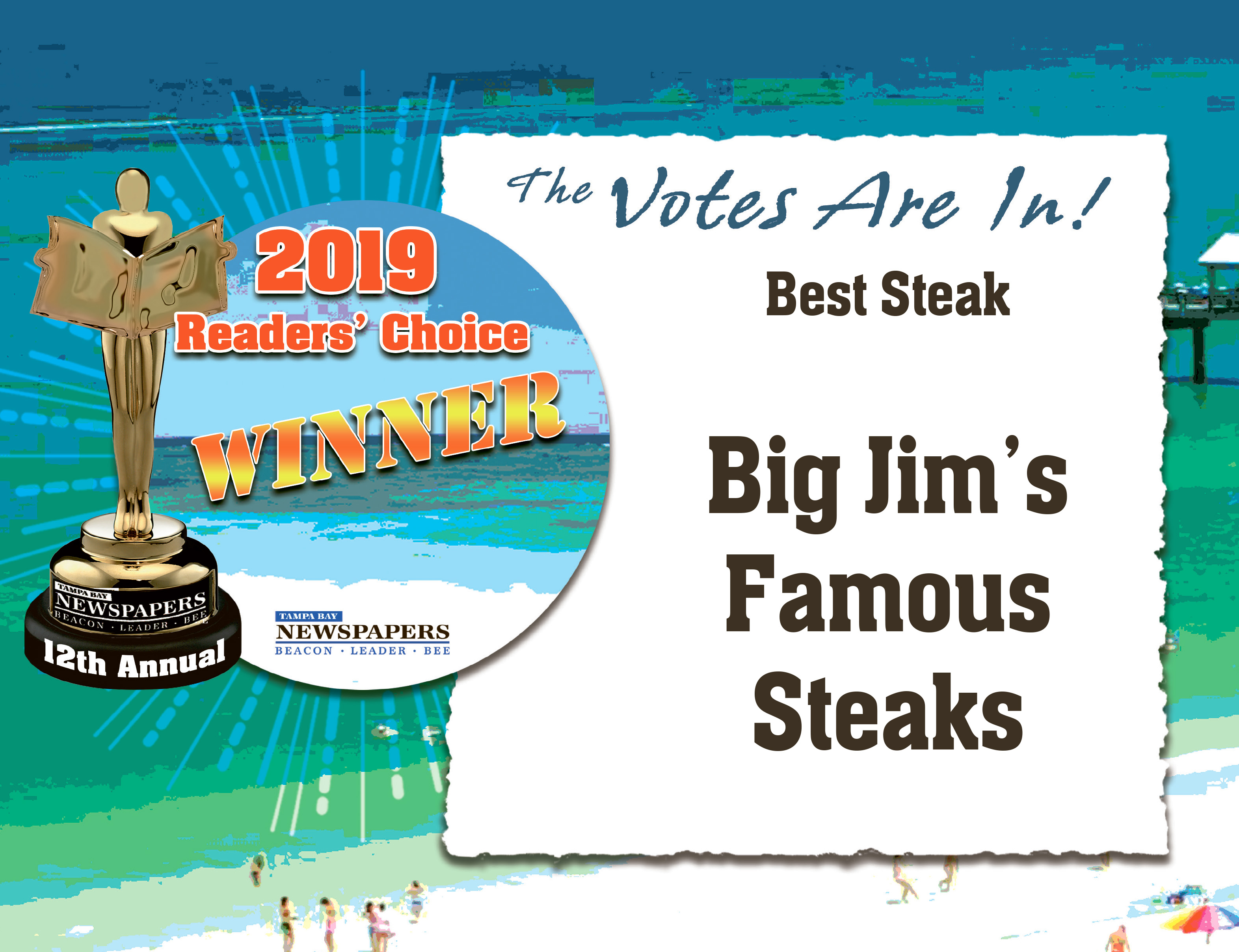 big jims best steak restaurant award